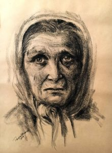 Grandmother Charcoal