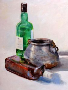 Still Life Oil Color
